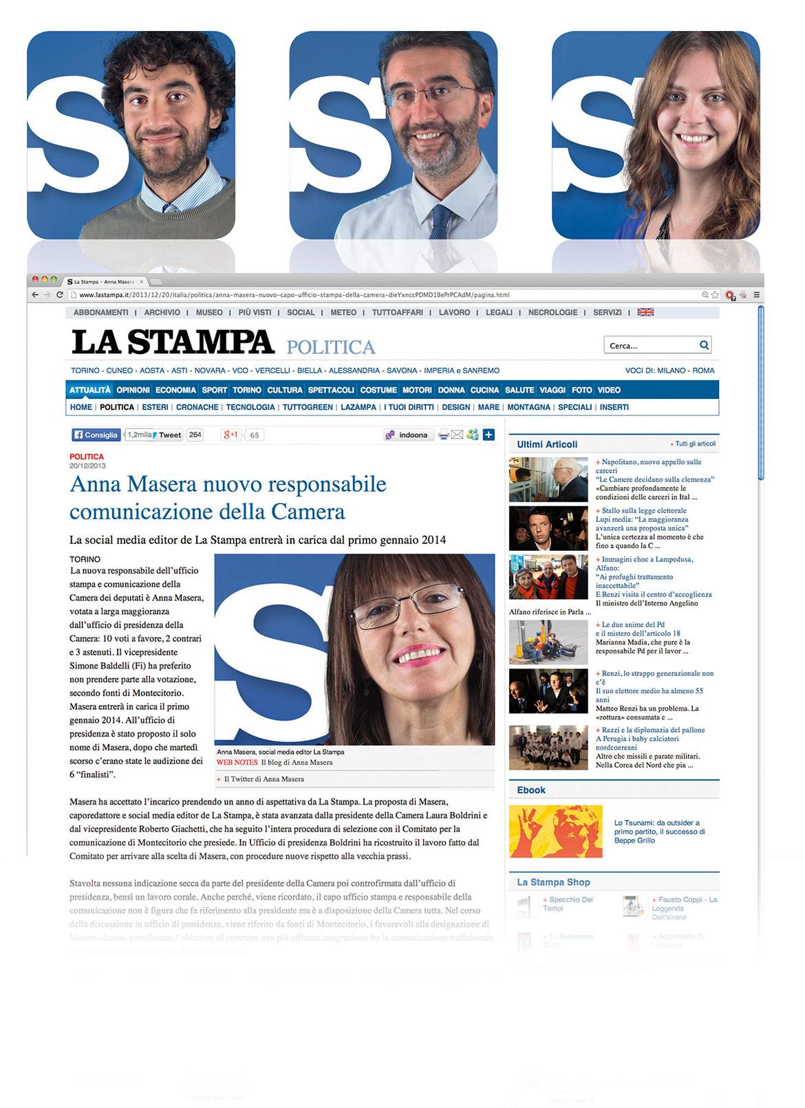 La Stampa social identity-0