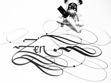 """Zen"" by Urban Calligraphy.-0"