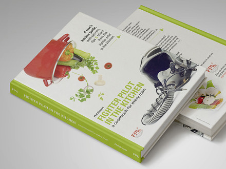 Fighter pilot in the kitchen, Cover design